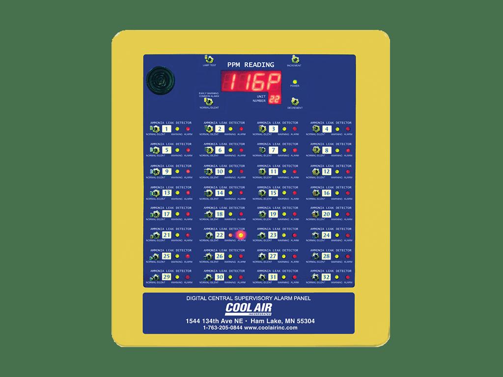 Digital Central Supervisory Alarm Panel